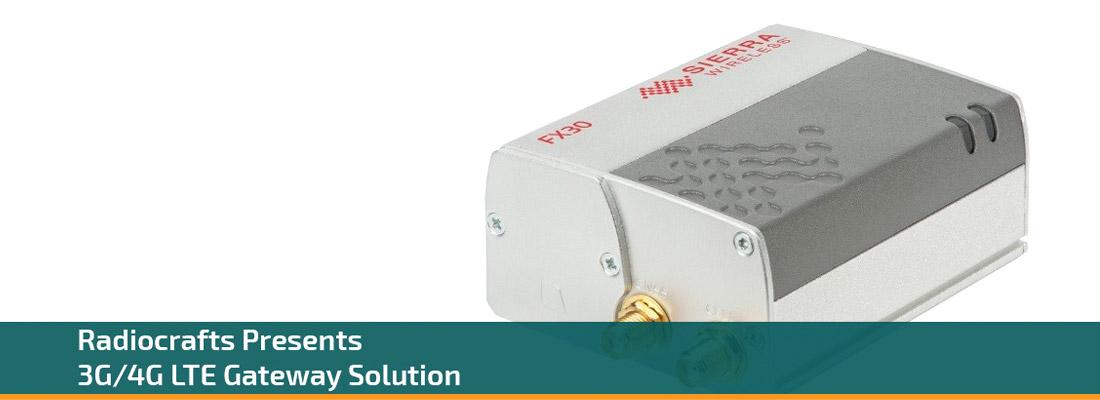radiocrafts 3G/4G LTE Gateway Solution